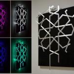 Dekoratif panel aydınlatma